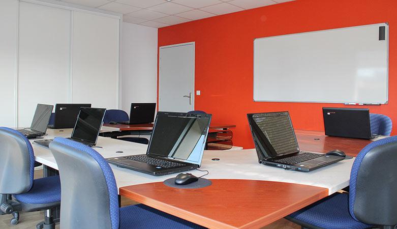 Salle de réunion et de formation à Angers, les Ponts de Cé
